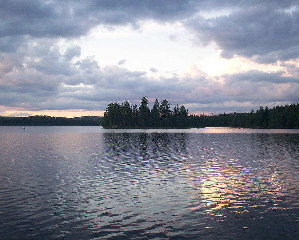 Algonquin Park Digital Art - Canisbay Lake Sunset - Clouds by Richard Andrews