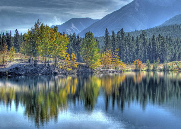 Canmore Wall Art - Photograph - Canmores Gem by Images By Nancy Chow
