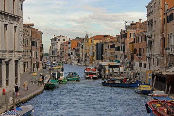 Photograph - Cannaregio Canal by Tony Murtagh