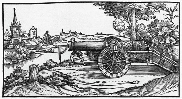 Painting - Cannon, 1547 by Granger
