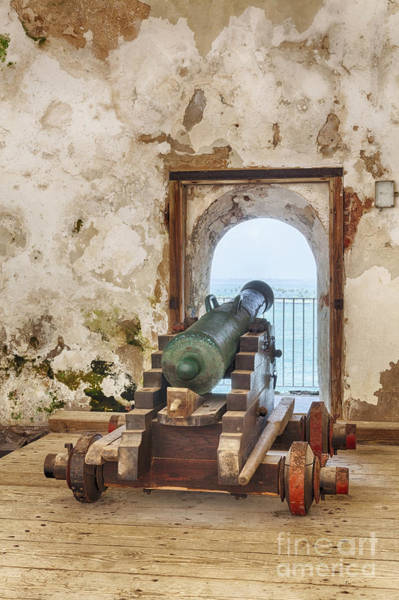 Photograph - Cannon At Fort San Felipe Del Morro by Bryan Mullennix