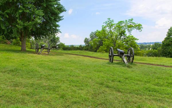 Photograph - Cannon At Fredericksburg by John M Bailey