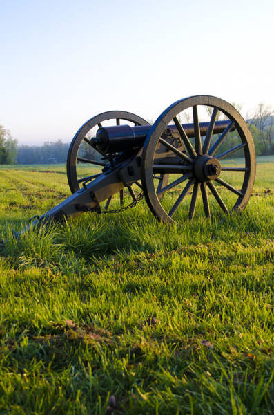 Photograph - Cannon At Gettysburg by Bill Cannon