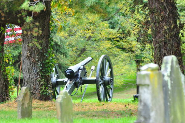 Somerset County Photograph - Cannon At Rest by Chad Wilkins