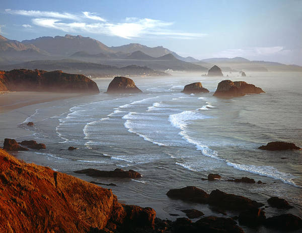 Cannon Beach At Sunset Art Print
