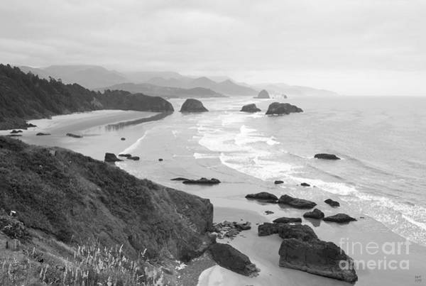 Cannon Beach Painting - Cannon Beach by David Millenheft