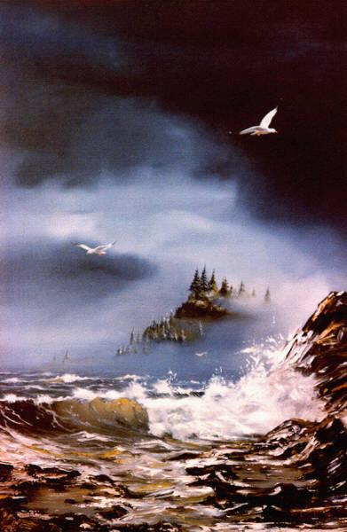 Cannon Beach Painting - Cannon Beach Oregon by Craig Burgwardt