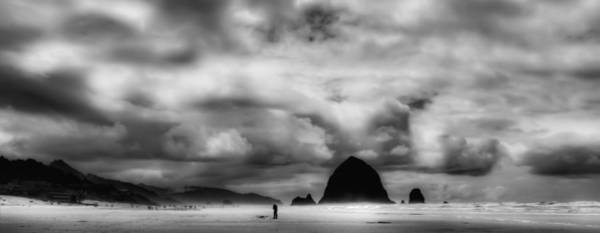 Photograph - Cannon Beach Panorama II - The Oregon Coast by David Patterson