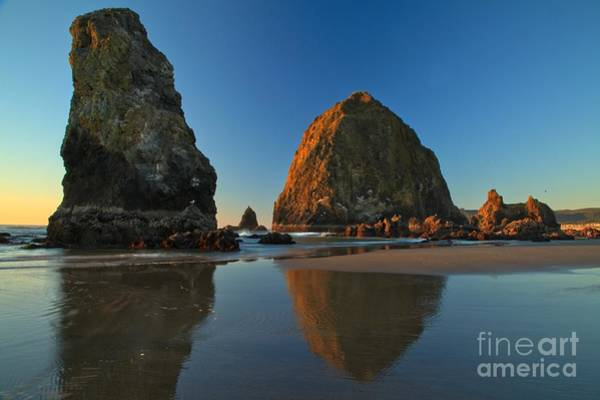 Photograph - Cannon Beach Sea Stacks by Adam Jewell