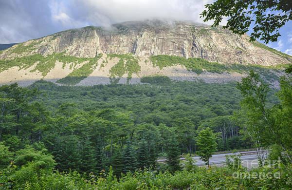 Franconia Notch State Park Photograph - Cannon Cliff - Franconia Notch State Park New Hampshire Usa  by Erin Paul Donovan