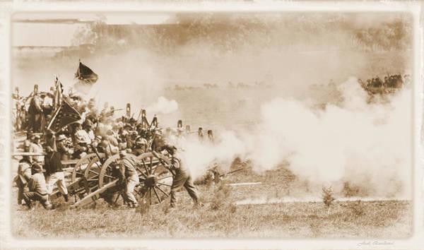 Cannon Fire Art Print