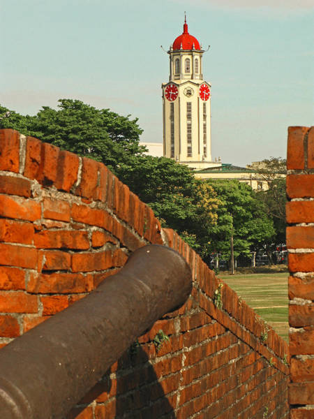 1604 Photograph - Cannon Wall And Churchtower by Pete Marchetto