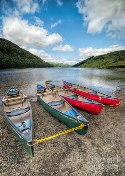 Coed Photograph - Canoe Break by Adrian Evans