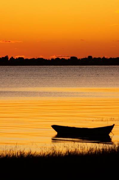 Photograph - Canoe Sunrise by Brian Magnier