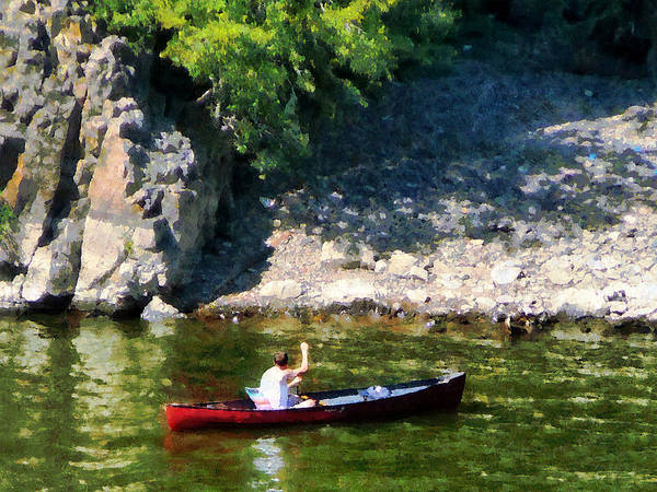Photograph - Canoeing In Paterson Nj by Susan Savad