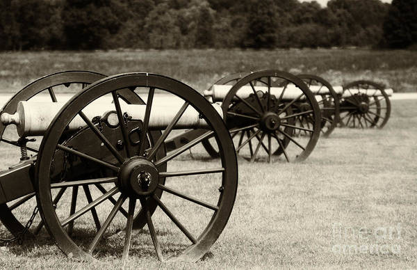 Photograph - Canons At Pea Ridge by Pam  Holdsworth