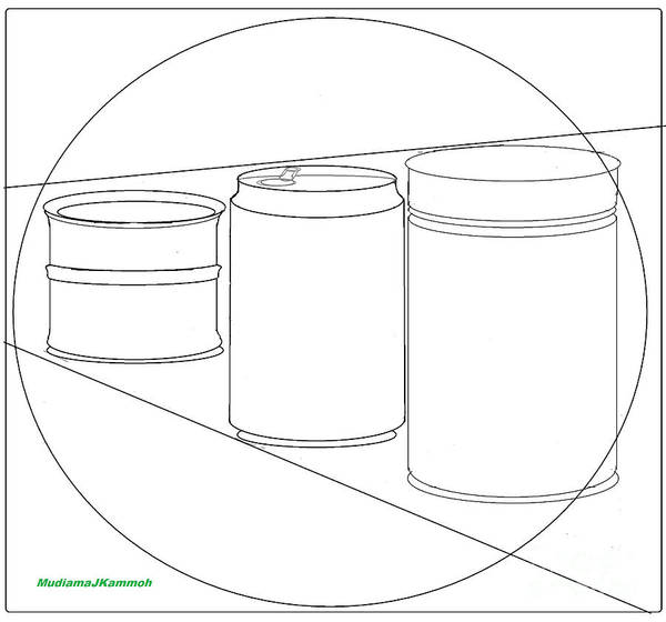 Beer Can Digital Art - Cans Aid Recycling - Wallpaper by Mudiama Kammoh