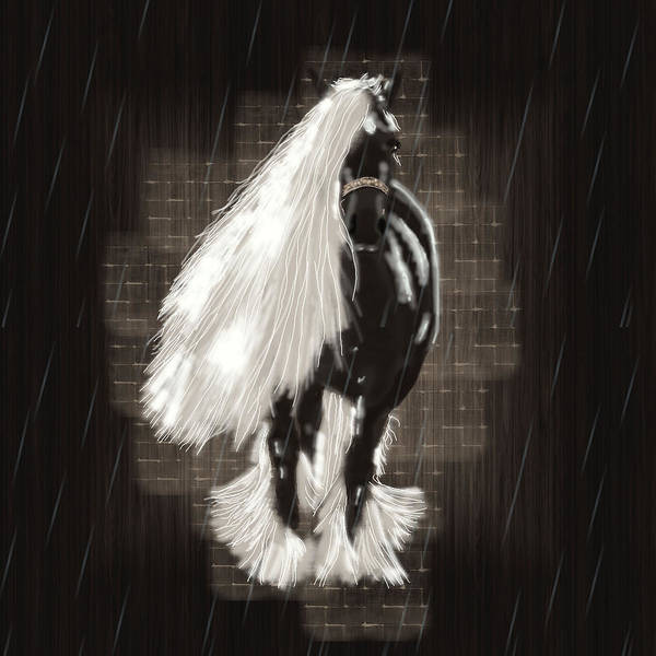 Wedding Gift Digital Art - Can't Stand The Rain by Graphicsite Luzern