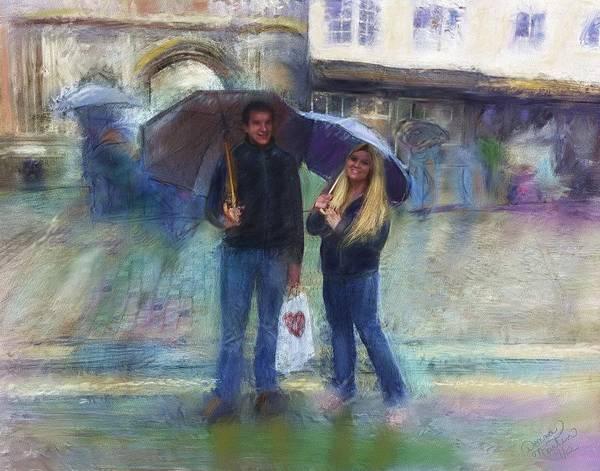 Wall Art - Digital Art - Canterbury Rain by Donna Marie Martin