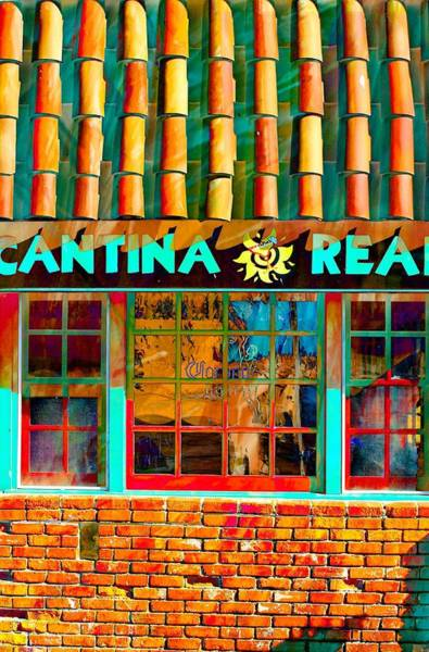 Cantina Photograph - Cantina Real Gone by Michael Hope