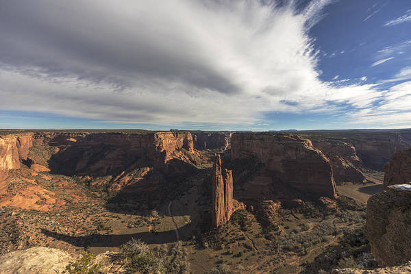 Spider Rock Photograph - Canyon De Chelly by Mike Herdering