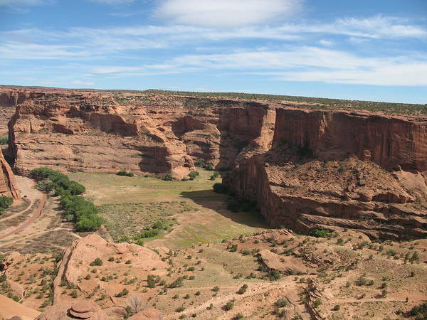 Spider Rock Photograph - Canyon De Chelly View by Christiane Schulze Art And Photography