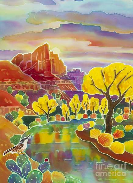 Wren Painting - Canyon Melody by Harriet Peck Taylor