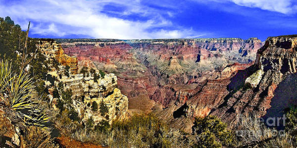 Photograph - The Grand Canyon 72x35 by Bob and Nadine Johnston