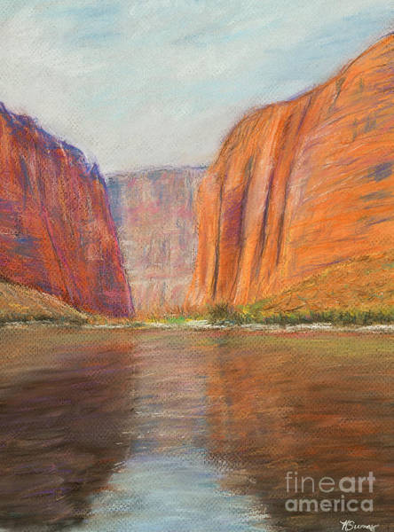 Painting - Canyon River Passage by Kate Sumners