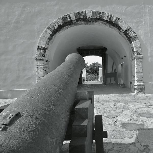 Antique Guns Photograph - canyon SanDiego BnW by Ricardo  Albarran