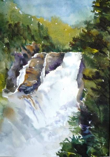 Painting - Canyon St. Anne -1 by Betty M M   Wong