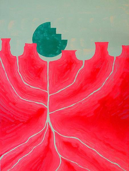 Painting - Canyon Tree Original Painting by Sol Luckman