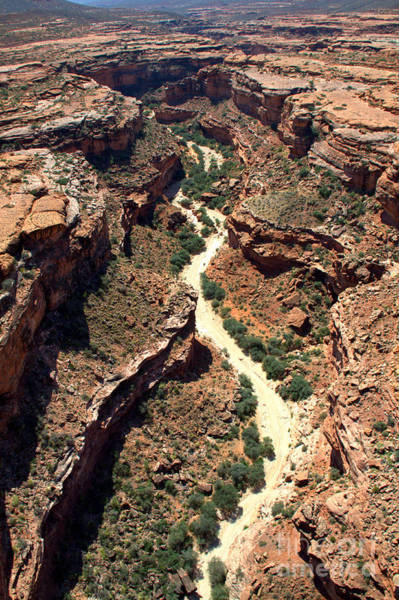 Photograph - Canyon Trekking by Jim McCain