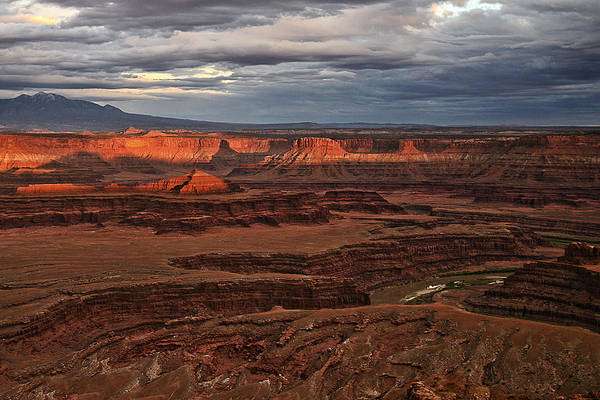 Photograph - Canyonlands Sunset by Wes and Dotty Weber