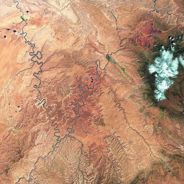 Geological Photograph - Canyonlands by Us Geological Survey