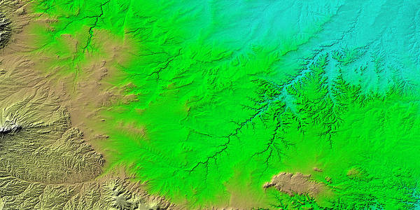 Wall Art - Photograph - Canyons In Colorado by Nasa/science Photo Library