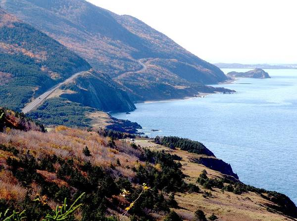 Cabot Trail Photograph - Cap Rouge On The Cabot Trail by George Cousins