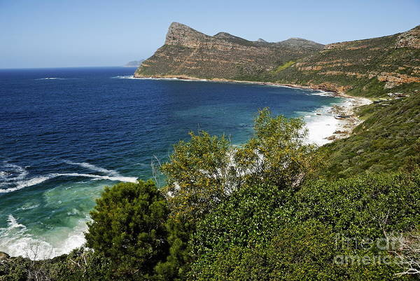 Wall Art - Photograph - Cape And Cliffs Nearby Cape Point by Sami Sarkis