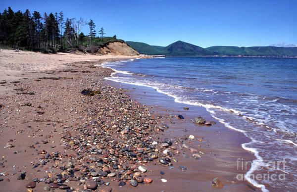 Photograph - Cape Breton Island Aspy Bay by Thomas R Fletcher