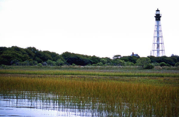 Virginia Lighthouse Photograph - Cape Charles Lighthouse by Skip Willits