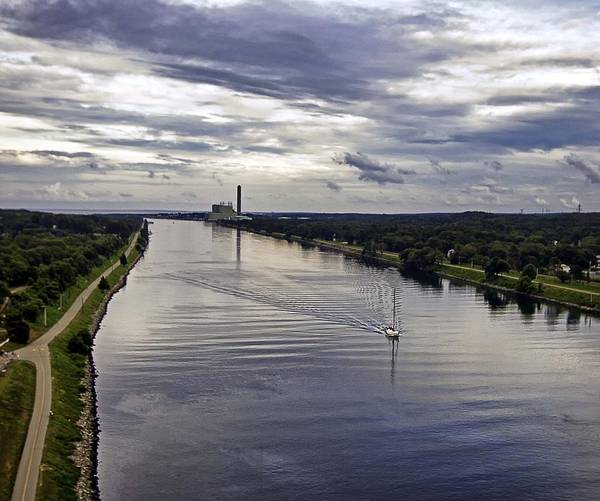 Roller Blades Photograph - Cape Cod Canal by Keith Woodbury