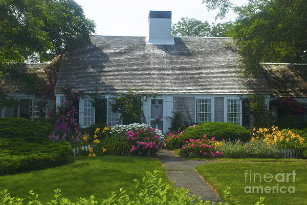 Photograph - Cape Cod Cottage by Amazing Jules