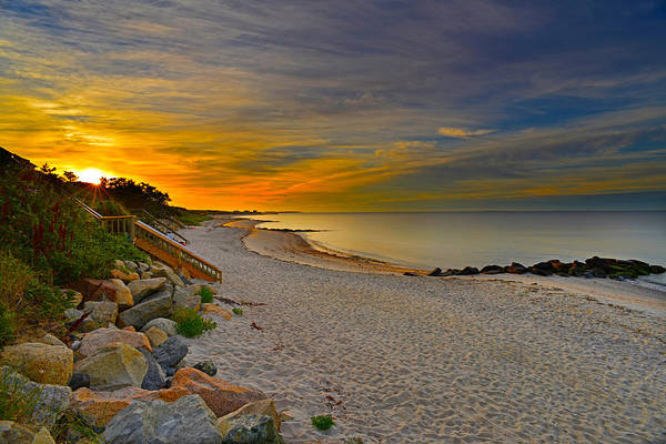 Photograph - Cape Cod Sunrise #1 by Ken Stampfer