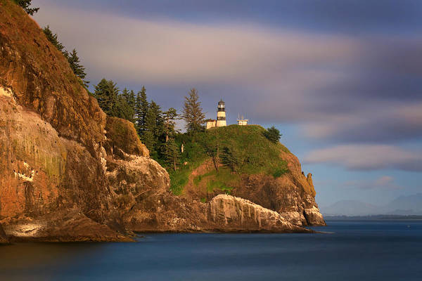 Wall Art - Photograph - Cape Disappointment Lighthouse by Katherine Gendreau