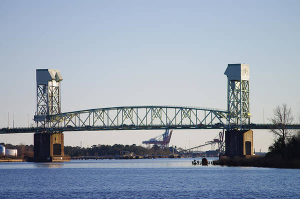 Cape Fear Memorial Bridge Art Print