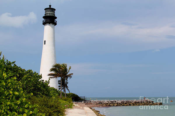 Key Biscayne Photograph - Cape Florida Beach by Carey Chen