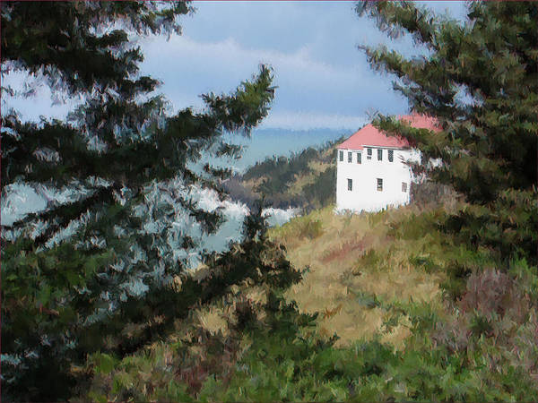 Photograph - Cape Foulweather II by Lora R Fisher