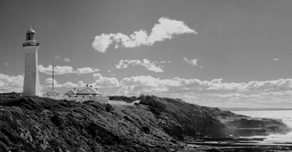 Photograph - Cape Green Light Momochrome by David Rich