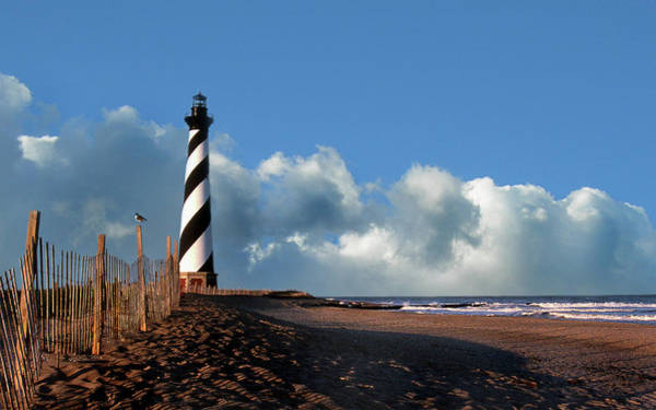 Erosion Wall Art - Photograph - Cape Hatteras Lighthouse Nc by Skip Willits