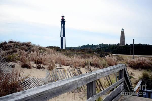 Virginia Lighthouse Photograph - Cape Henry Light House by Mike Baltzgar